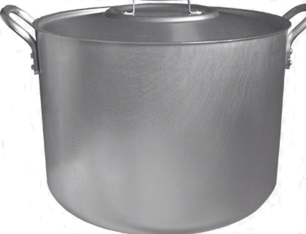 Cratita  9952 aluminiu cu capac 40 L