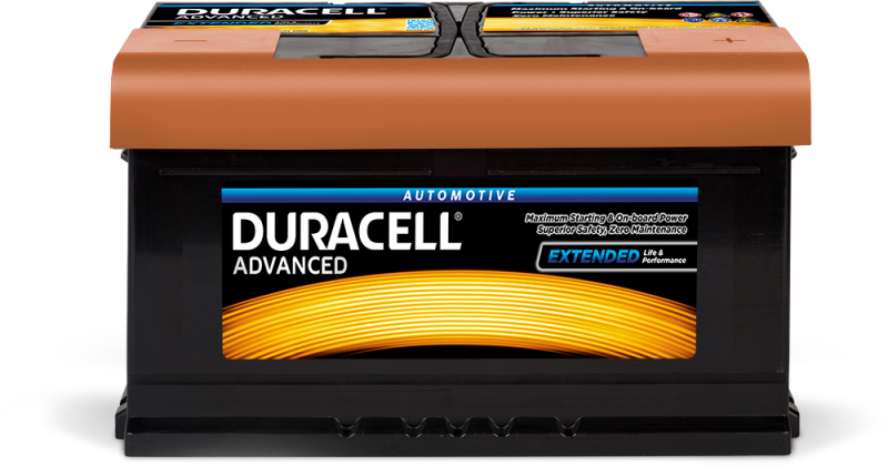 Acumulator DURACELL ADVANCED 12V DA 80