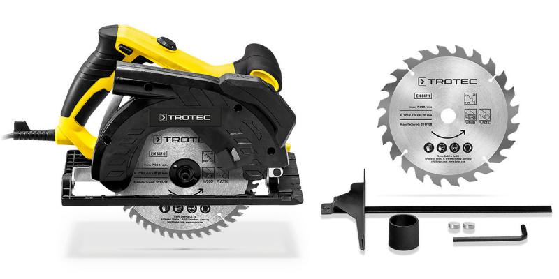 Ferastrau TROTEC PCSS 101400 (circular electric)