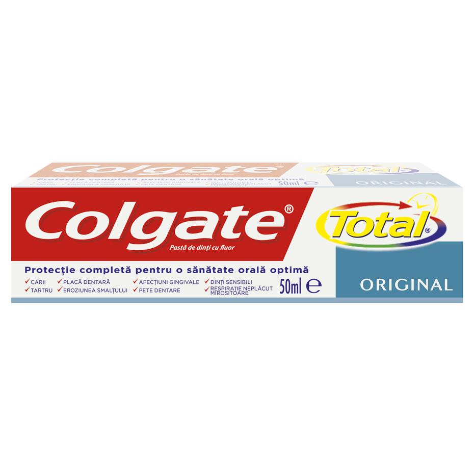 Pasta de dinti COLGATE TOTAL ORIGINAL 50 ml