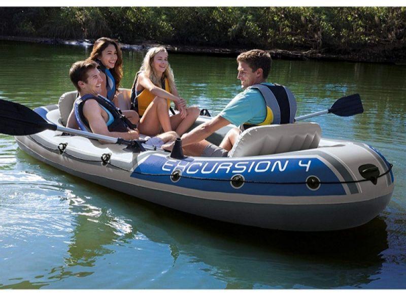 Barca INTEX EXCURSION 4 (315X165X43 CM) (68324)