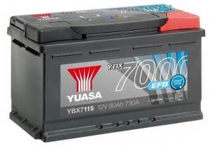 Acumulator YUASA 7000 EFB YBX7115