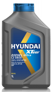 Ulei motor HYUNDAI XTEER ULTRA C3 5W30 1000 ml