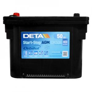 Acumulator DETA DK508 MICRO-HYBRID AGM