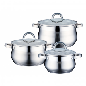 Cratita PETERHOF PH-15237 (SET) inox 3 buc