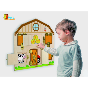 Jucarie logica VIGA WALL TOY (51627)