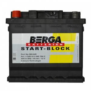 Acumulator BERGA START-BLOCK SB 45