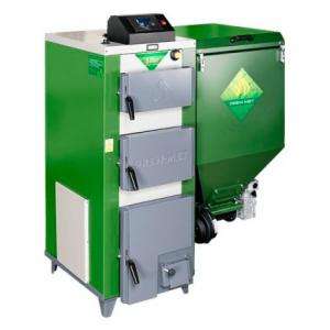 Cazan pe combustibil solid DREWMET ECO-PRIM KOMPACT 12 KW 1.3 (LA COMANDA)