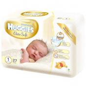Scutece HUGGIES ELITE SOFT 27 buc № 1
