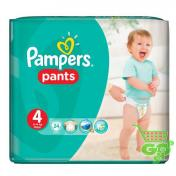 Scutece PAMPERS PANTS 24 buc № 4 (chilotei)