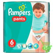 Scutece PAMPERS PANTS 19 buc № 6 (chilotei)