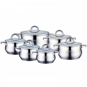Cratita PETERHOF PH-15235 (SET) inox 6 buc