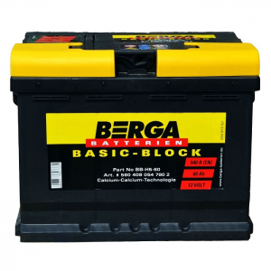 Acumulator BERGA BASIC-BLOCK BB 60