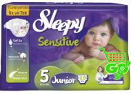 Scutece SLEEPY SENSITIVE JUNIOR 36 buc № 5