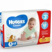 Scutece HUGGIES CLASSIC 68 buc 7-18 Kg № 4