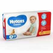 Scutece HUGGIES CLASSIC 58 buc 11-25 Kg № 5