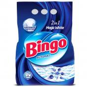 Detergent BINGO MAGIC WHITE 2 Kg Automat