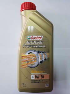 Ulei motor CASTROL EDGE PROFESSIONAL A5 0W30 1000 ml