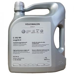 Ulei motor VOLKSWAGEN LONGLIFE III 5W30 5000 ml
