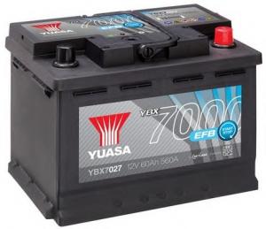 Acumulator YUASA 7000 EFB YBX7027