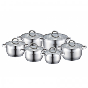 Cratita PETERHOF PH-15234S (SET) inox 6 buc