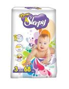 Scutece SLEEPY JUMBO PACK 68 buc № 3