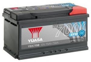 Acumulator YUASA 7000 EFB YBX7110