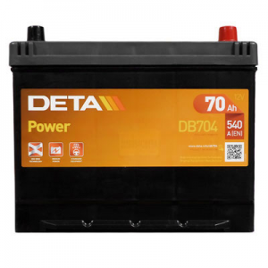 Acumulator DETA DB704 POWER JAP-UAS