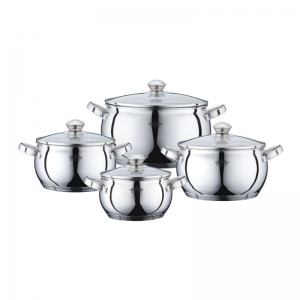 Cratita PETERHOF PH-15833 (SET) inox 4 buc