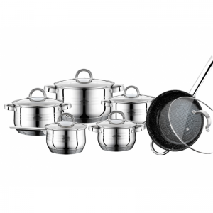 Cratita PETERHOF PH-15797 (SET) inox 6 buc
