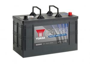 Acumulator YUASA CARGO SHD 663SHD