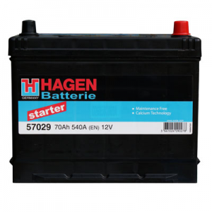 Acumulator HAGEN 57029 STARTER JAP-USA