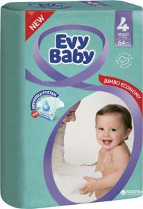 Scutece EVY BABY MAXI № 4 64 buc 7-18 Kg