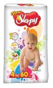 Scutece SLEEPY JUMBO PACK 60 buc № 4