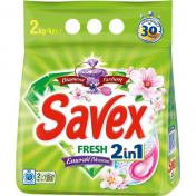 Detergent SAVEX 2IN1 FRESH 2 Kg Automat