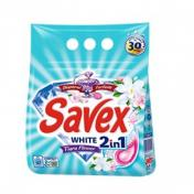 Detergent SAVEX 2IN1 WHITE 2 Kg Automat