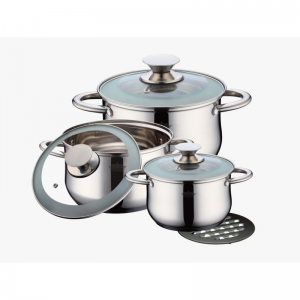 Cratita PETERHOF PH-15259 (SET) inox 3 buc