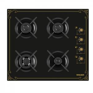 Plita WOLSER WL- F 6400 GT IC BLACK R Incorporabila Gaz