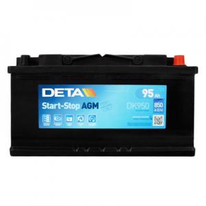 Acumulator DETA DK950 MICRO-HYBRID AGM