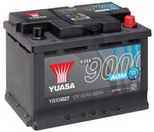 Acumulator YUASA 9000 AGM YBX9027