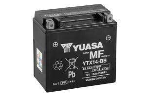 Acumulator YUASA MF VRLA YTX14-BS