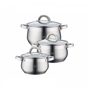 Cratita PETERHOF PH-15759 (SET) inox 3 buc