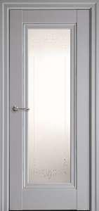 Дверь межкомнатная ELEGANT PRESTIGE Серая пастель