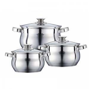 Cratita PETERHOF PH-15775 (SET) inox 3 buc