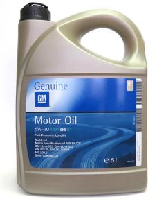 Ulei motor GENERAL MOTORS DEXOS2 5W30 5000 ml