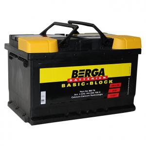 Acumulator BERGA BASIC-BLOCK BB 70