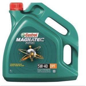 Ulei motor CASTROL MAGNATEC DIESEL 5W40 4000 ml