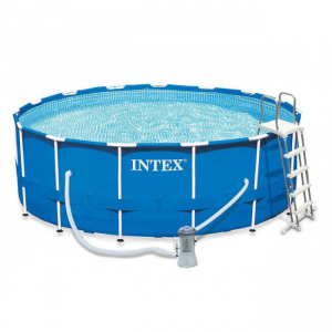 Piscina INTEX METAL FRAME POOL (28242) 16800 L