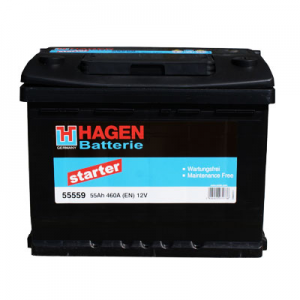 Acumulator HAGEN 55559 STARTER EUR