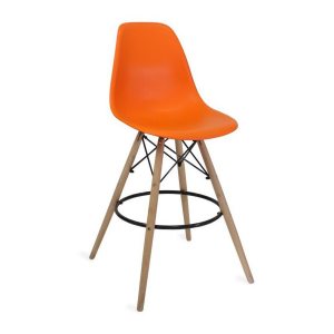SCAUN DE BAR  EAMES BAR BD-37 Orange